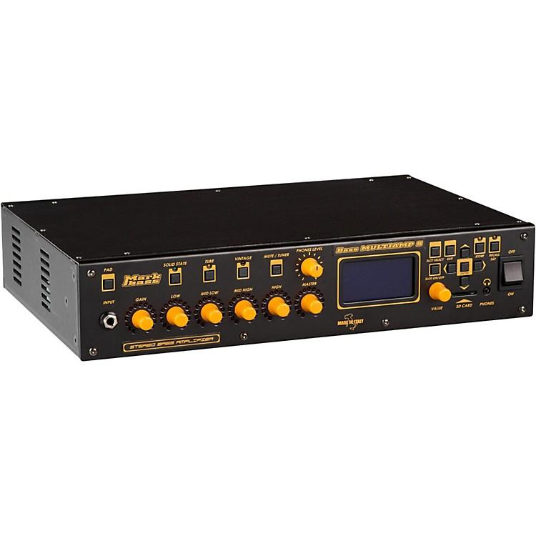 MarkbassBass Multiamp S Stereo 600W Bass Head with EffectsBlack