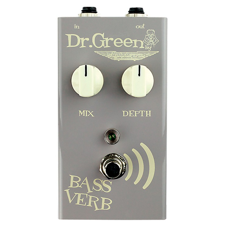 Dr. Green Bass Verb Bass Reverb Guitar Effects Pedal