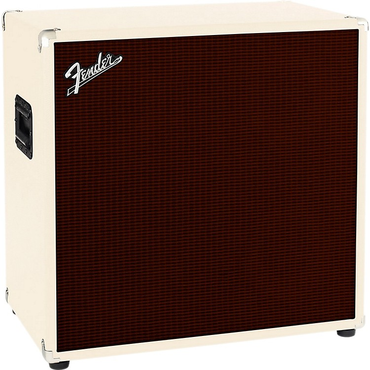 Fender Bassman 410 4x10 Bass Cabinet Blonde/Oxblood