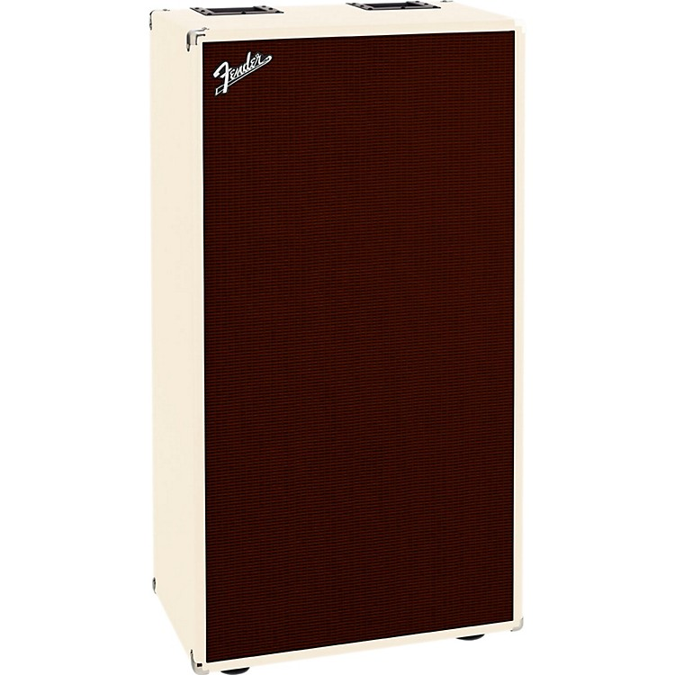 Fender Bassman 810 8x10 Bass Cabinet Blonde/Oxblood