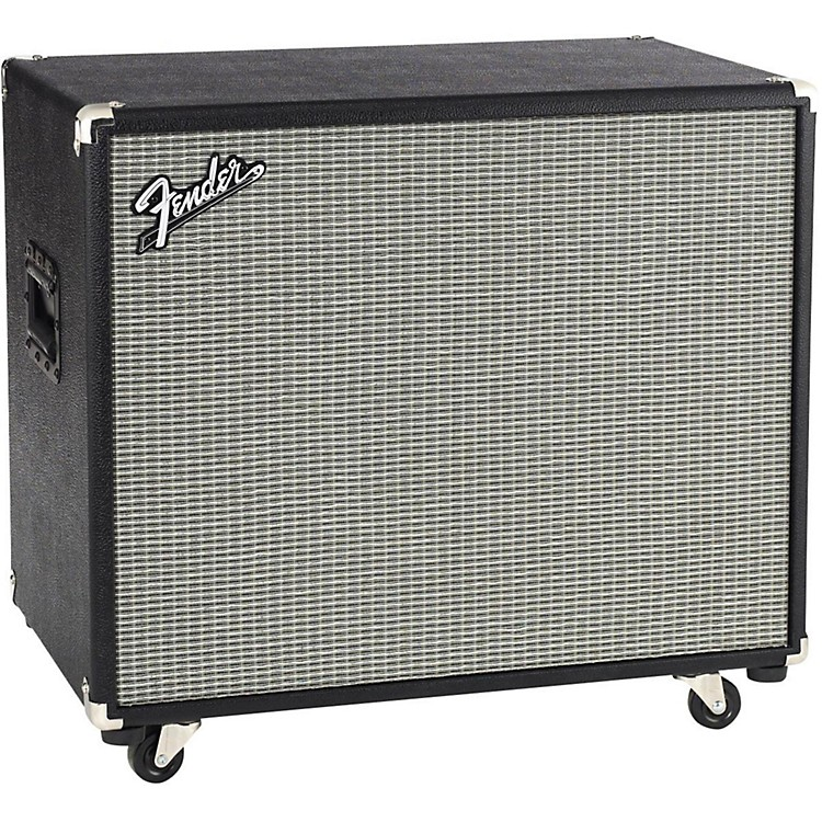 Fender Bassman Pro 115 1x15 Neo Bass Speaker Cabinet Black