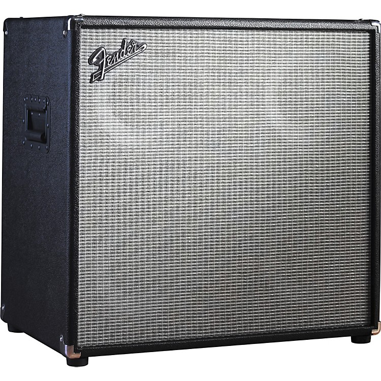 Fender Bassman Pro 410 4x10 Neo Bass Speaker Cabinet Black