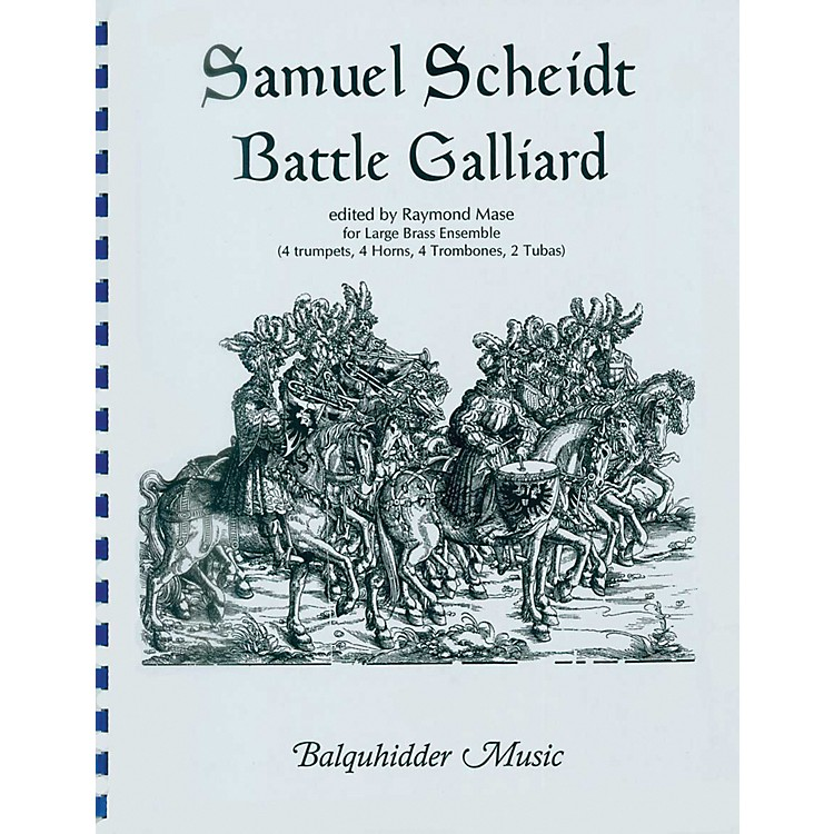 Carl Fischer Battle Galliard Book