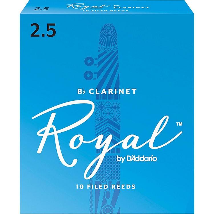 Rico RoyalBb Clarinet Reeds, Box of 10Strength 2.5