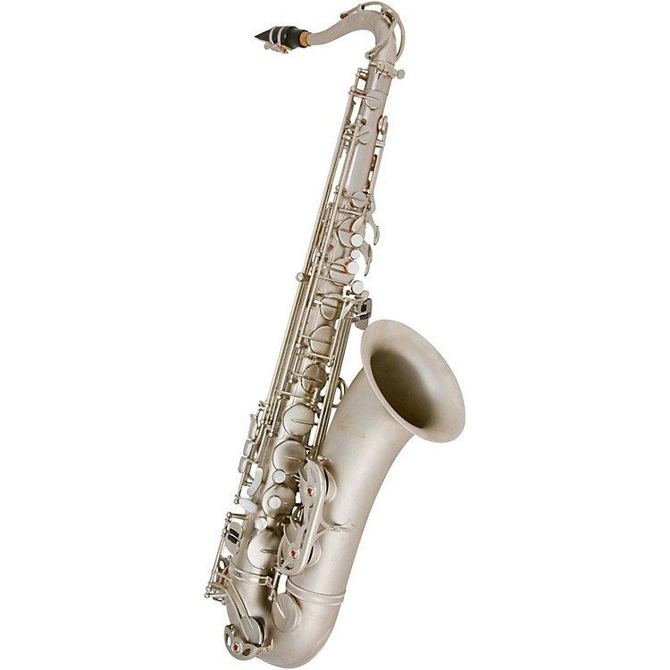 Antigua Winds Bb Tenor Saxophone Classic Nickel Finish