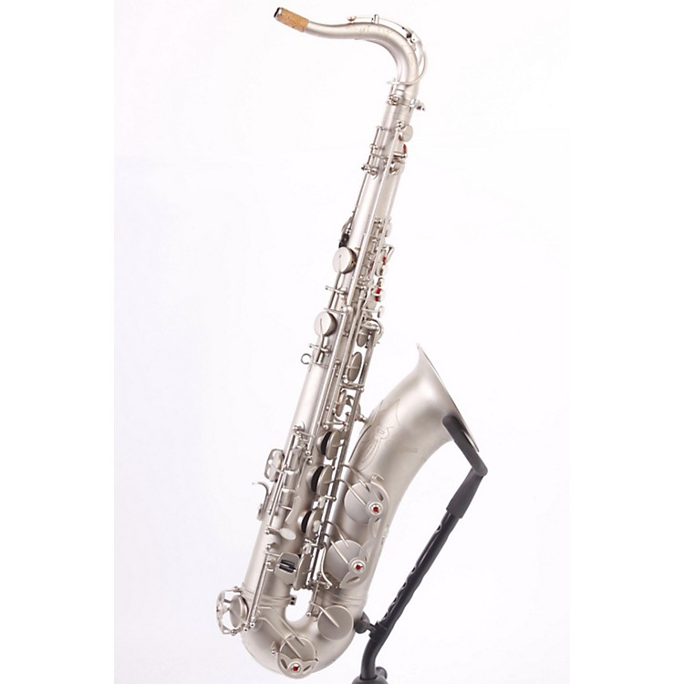 Antigua Winds Bb Tenor Saxophone Classic Nickel Finish 886830627590