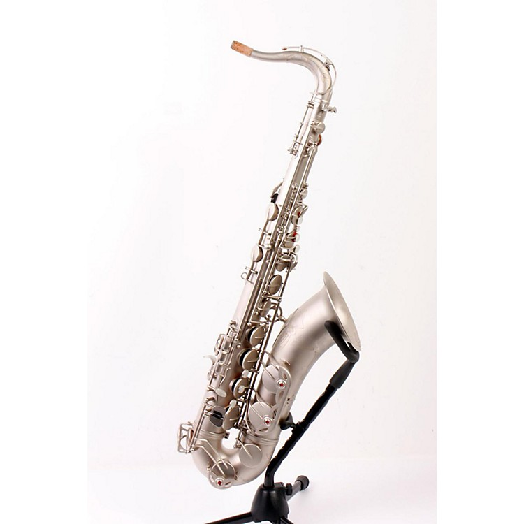 Antigua Winds TS4240 Power Bell Series Professional Bb Tenor Saxophone Classic Nickel Finish 886830957949