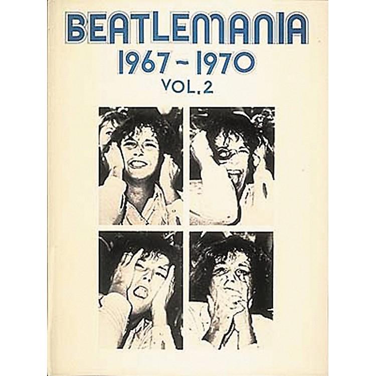 Hal LeonardBeatlemania 1967-1970 Volume 2 Piano, Vocal, Guitar Songbook