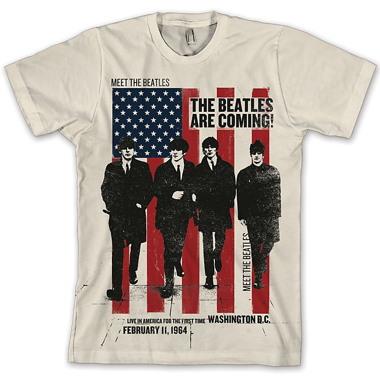 FEA Merchandising Beatles - The Beatles Are Coming T Shirt