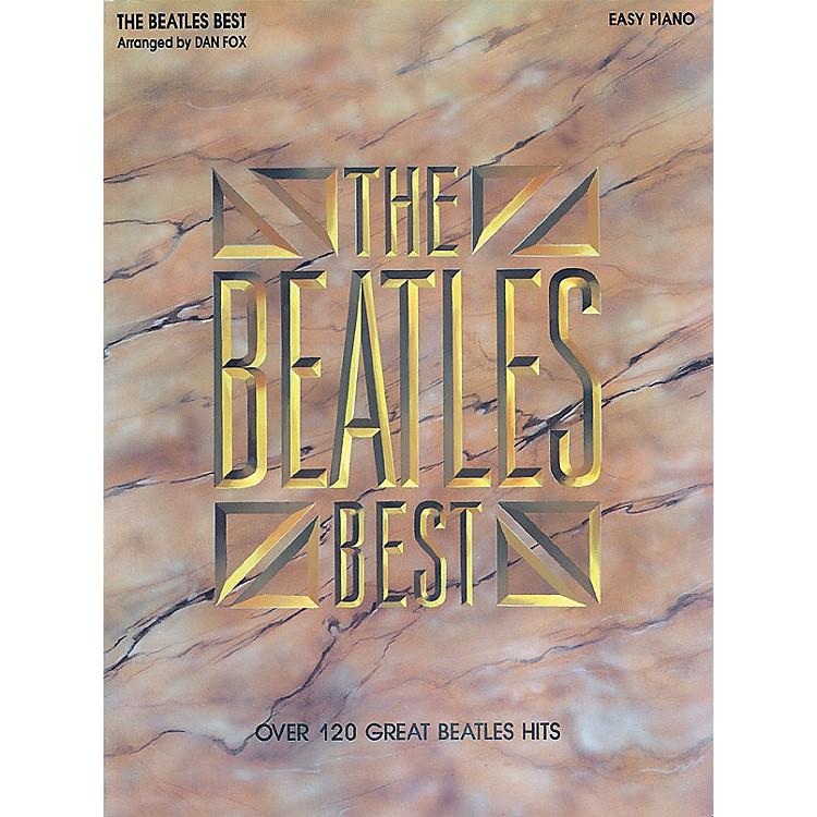 Hal LeonardBeatles Best for Easy Piano
