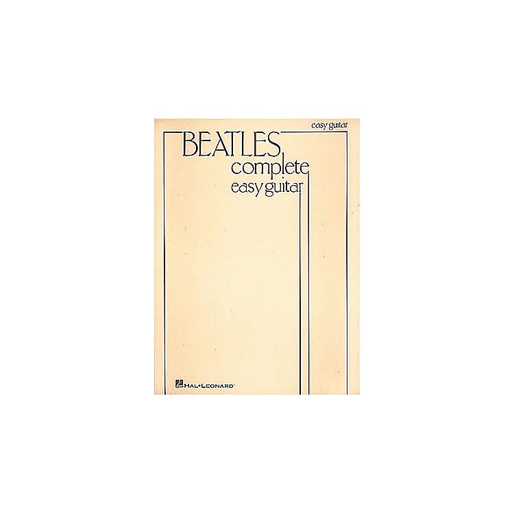 Hal LeonardBeatles Complete Easy Guitar Songbook