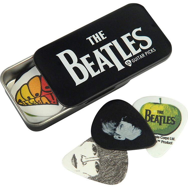 Planet Waves Beatles Logo Pick Tin - 15 Medium Picks