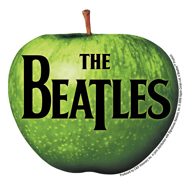 C&D Visionary Beatles apple Sticker