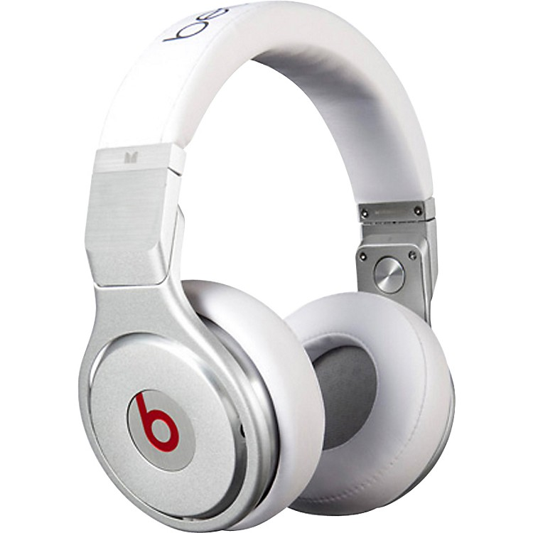 Monster Beats by Dr. Dre Pro Headphones White
