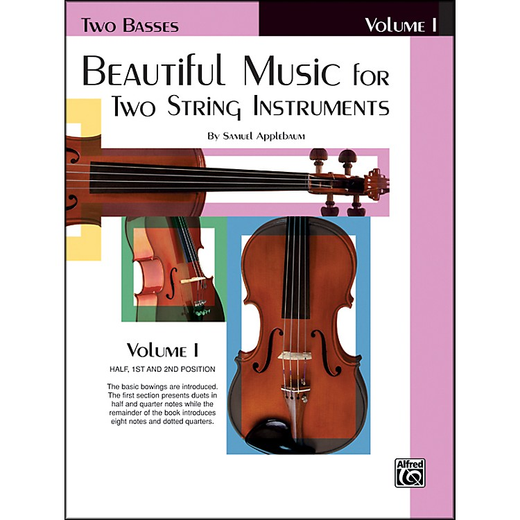 AlfredBeautiful Music for Two String Instruments Book I 2 Basses