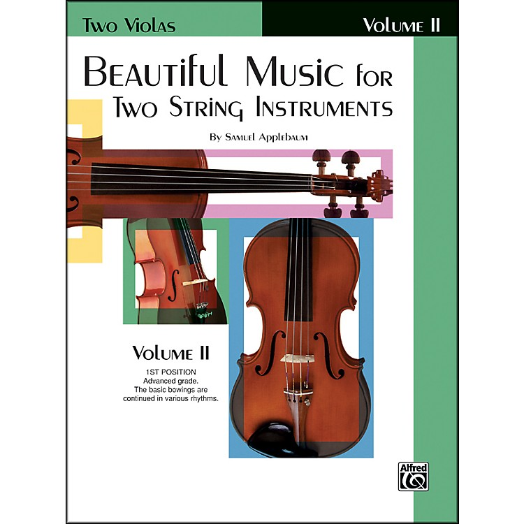 AlfredBeautiful Music for Two String Instruments Book II 2 Violas