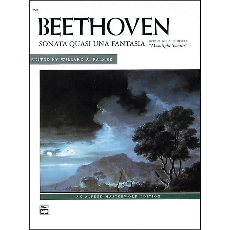 AlfredBeethoven Moonlight Sonata Op. 27 No. 2 (Complete) Late Intermediate/Early Advanced Piano Solo