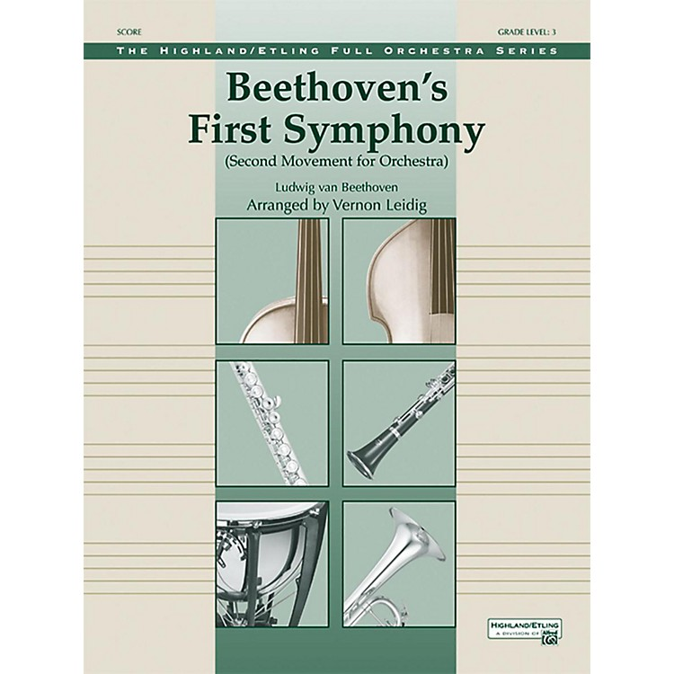 AlfredBeethoven's First Symphony Grade 3