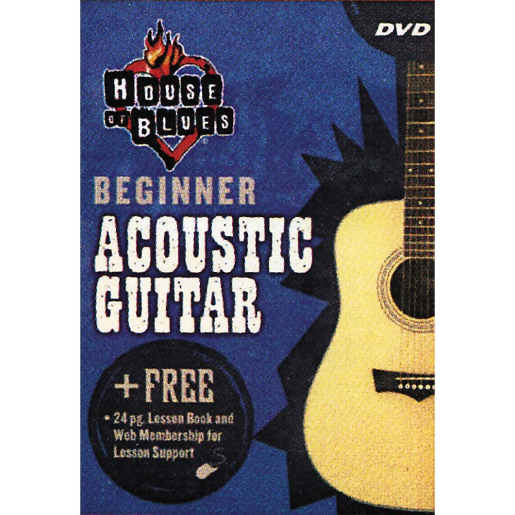 Hal Leonard Beginner Acoustic Guitar (DVD)