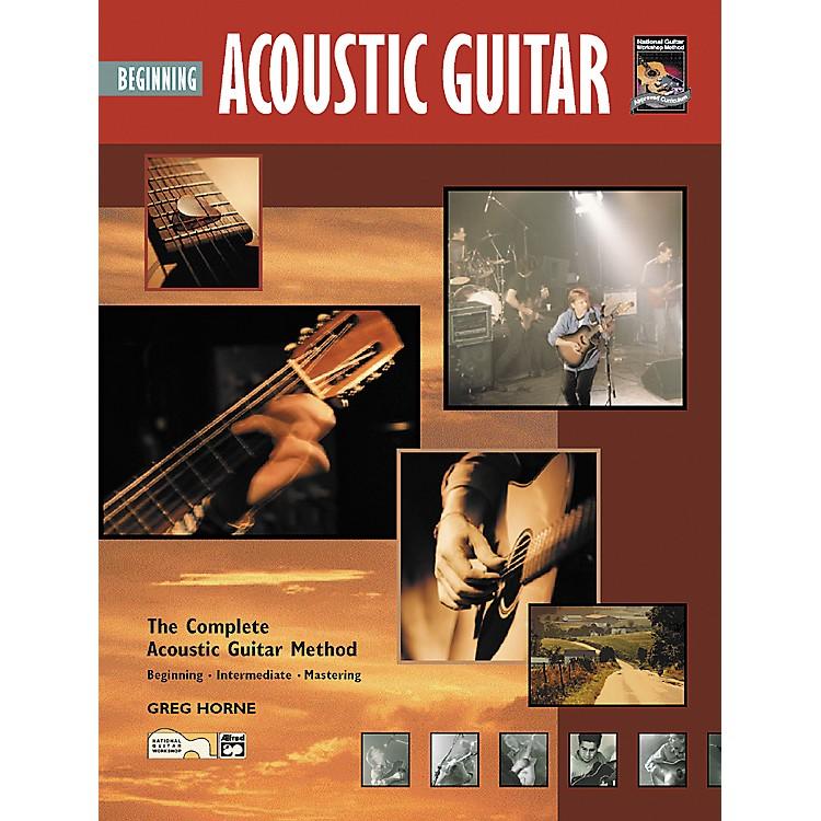 AlfredBeginning Acoustic Guitar (Book/CD)