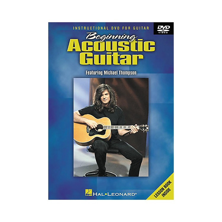 Hal Leonard Beginning Acoustic Guitar (DVD)