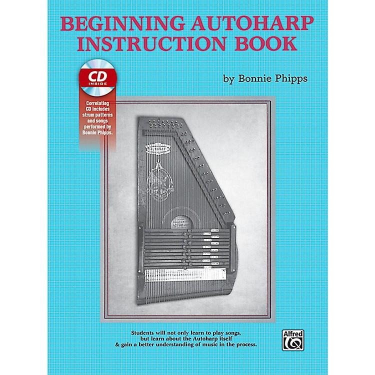 AlfredBeginning Autoharp Instruction Book & CD
