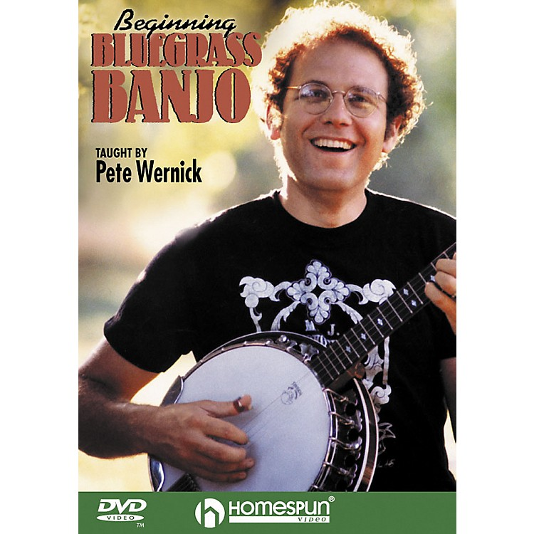 Homespun Beginning Bluegrass Banjo DVD