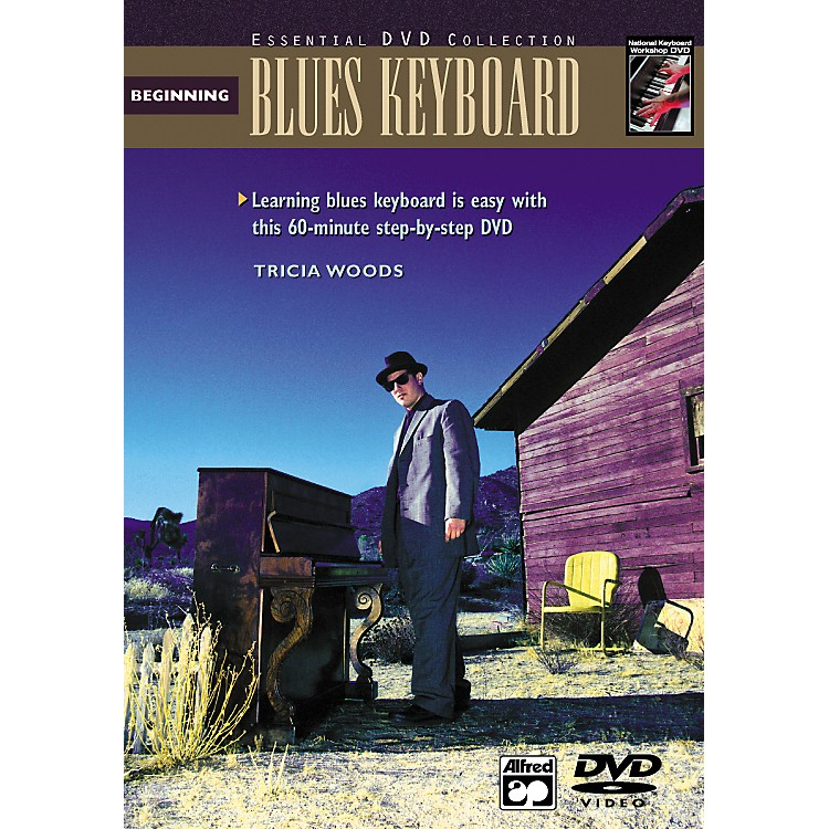 Alfred Beginning Blues Keyboard (Book/DVD)