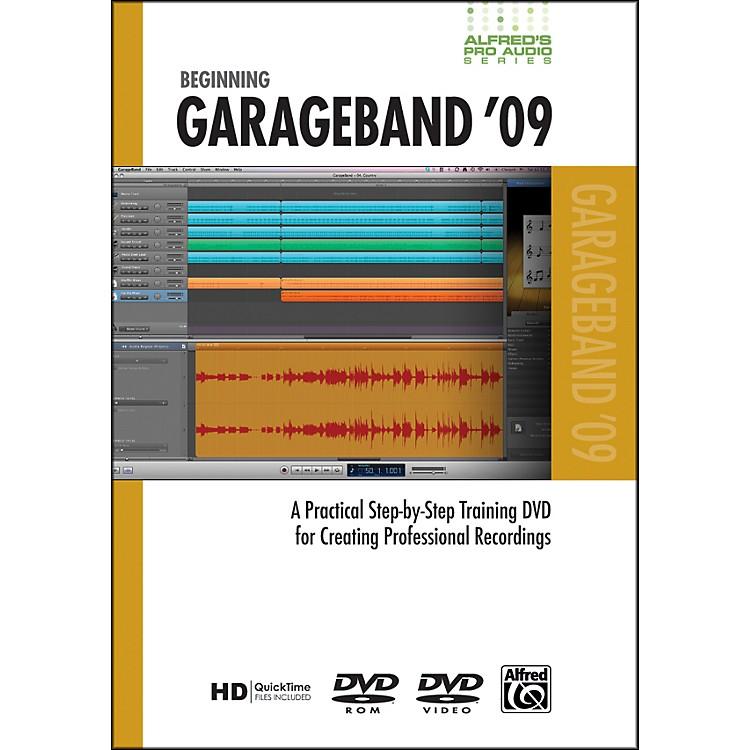 AlfredBeginning GarageBand '09 (DVD)