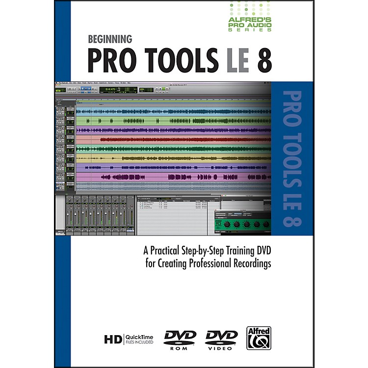 Alfred Beginning ProTools LE 8 (DVD)