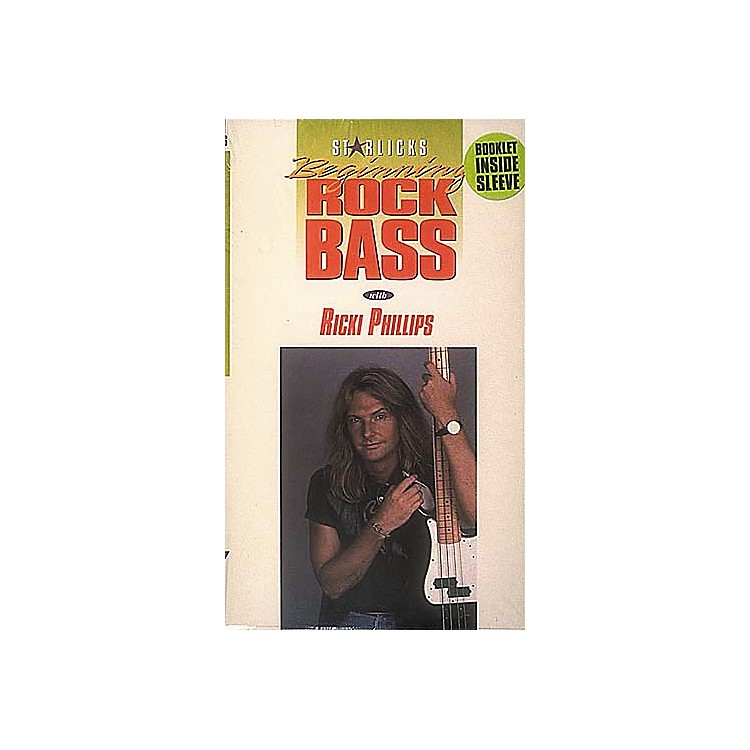 Hal Leonard Beginning Rock Bass Video Package