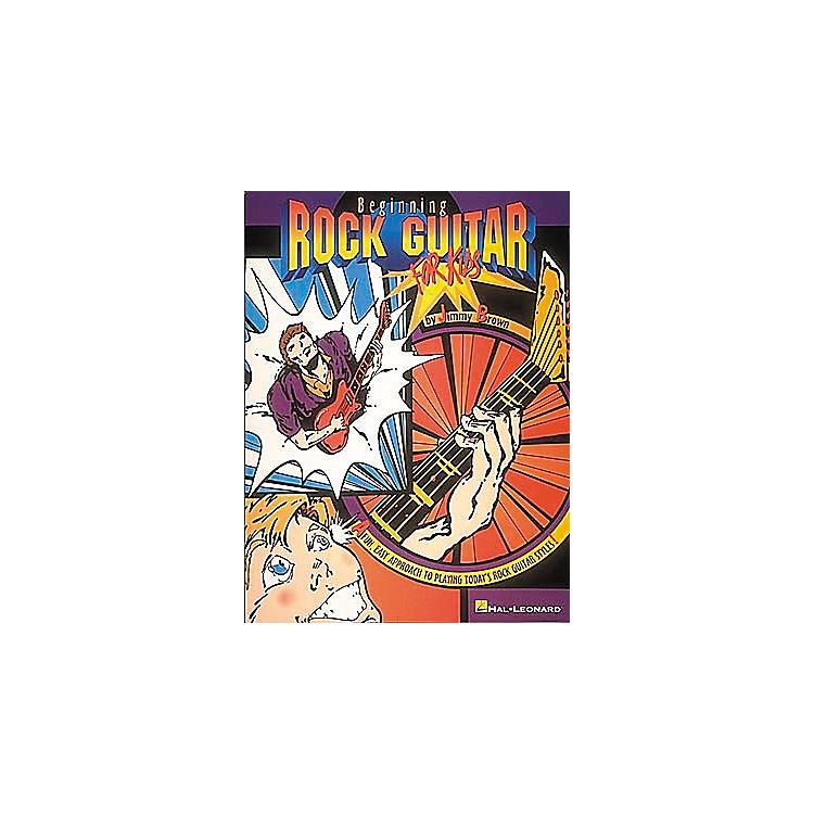 Hal LeonardBeginning Rock Guitar For Kids Book