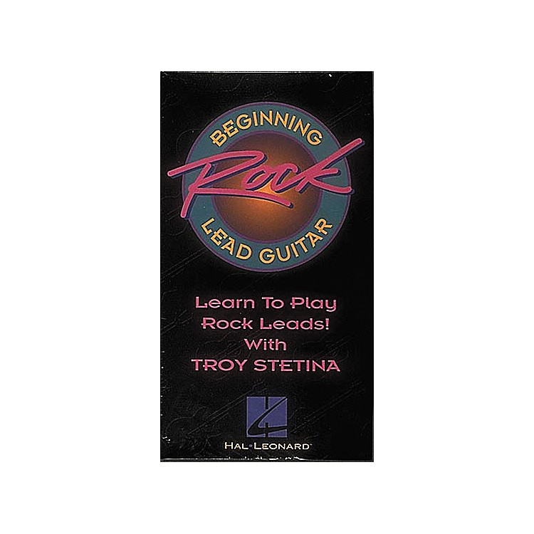 Hal Leonard Beginning Rock Lead Guitar Video