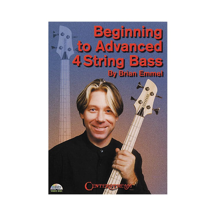 Centerstream Publishing Beginning to Advanced 4-String Bass (DVD)