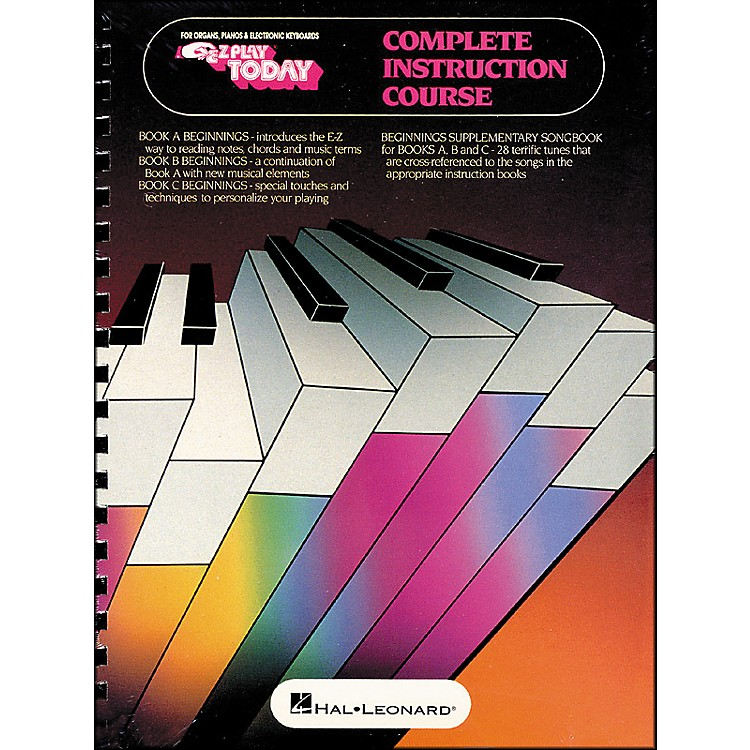 Hal Leonard Beginnings for Keyboards Complete Instruction Course (Book A, B, and C)