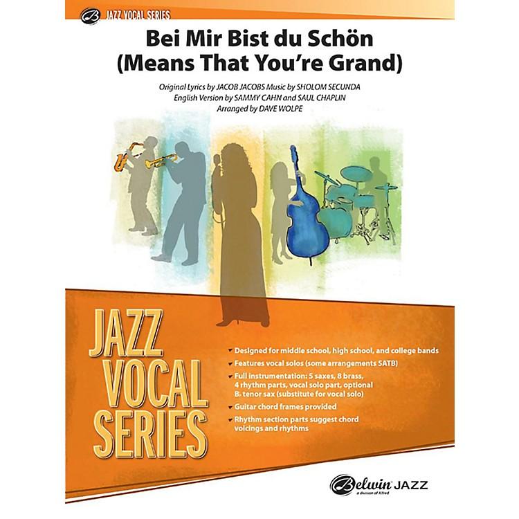 AlfredBei Mir Bist Du Schon (Means That You're Grand) Jazz Vocal Band Grade 3.5 Set