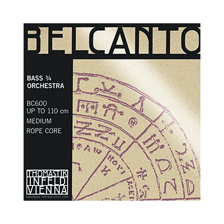 Thomastik Belcanto 3/4 Size Double Bass Strings 3/4 Size Solo Set