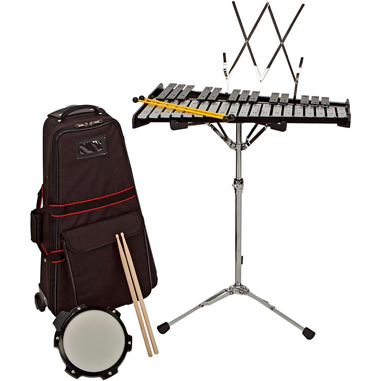 Sound Percussion Bell Kit w/ Rolling Cart 2-1/2 OCTAVE