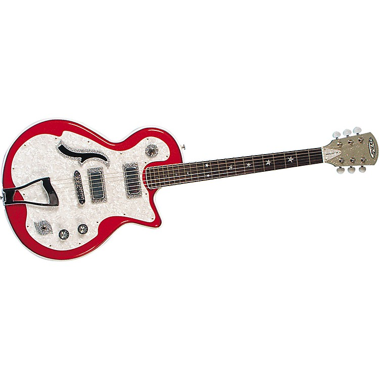 DiPinto Belvedere Deluxe Electric Guitar Red Sparkle
