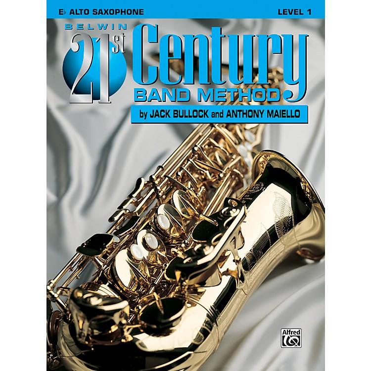 AlfredBelwin 21st Century Band Method Level 1 E-Flat Alto Saxophone Book