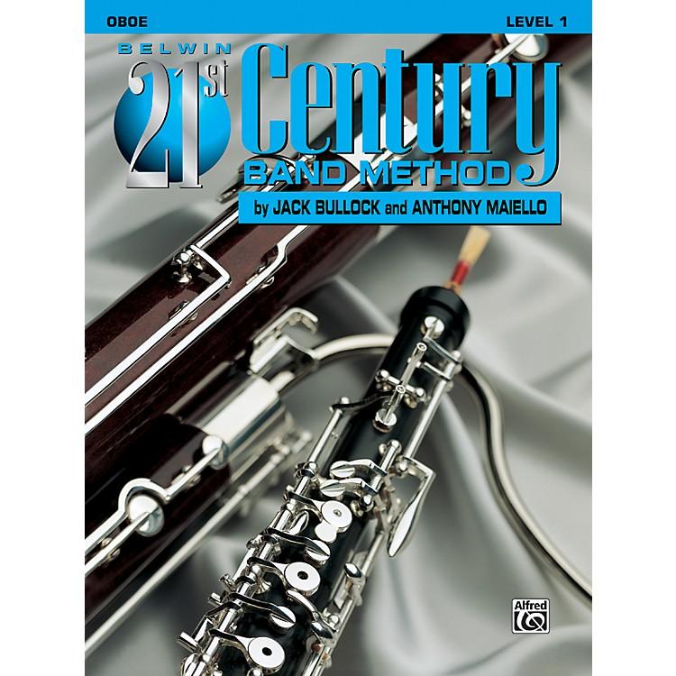 AlfredBelwin 21st Century Band Method Level 1 Oboe Book