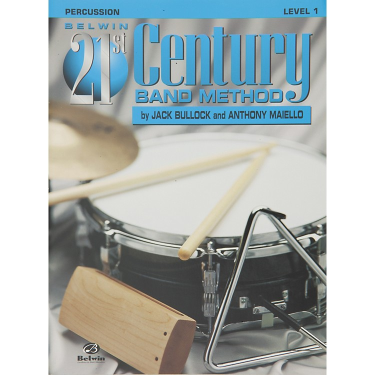 AlfredBelwin 21st Century Band Method Level 1 Percussion Book