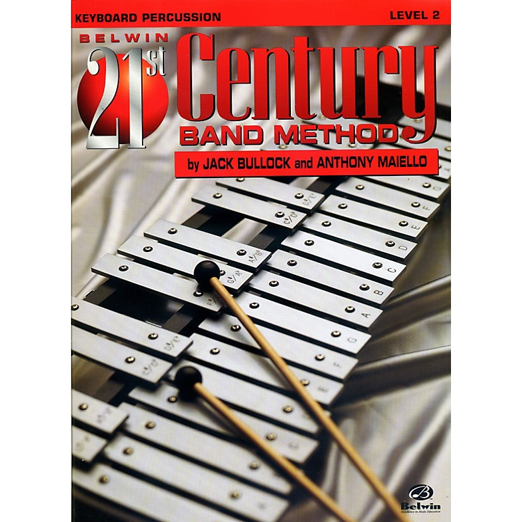 Alfred Belwin 21st Century Band Method Level 2 Keyboard Percussion Book