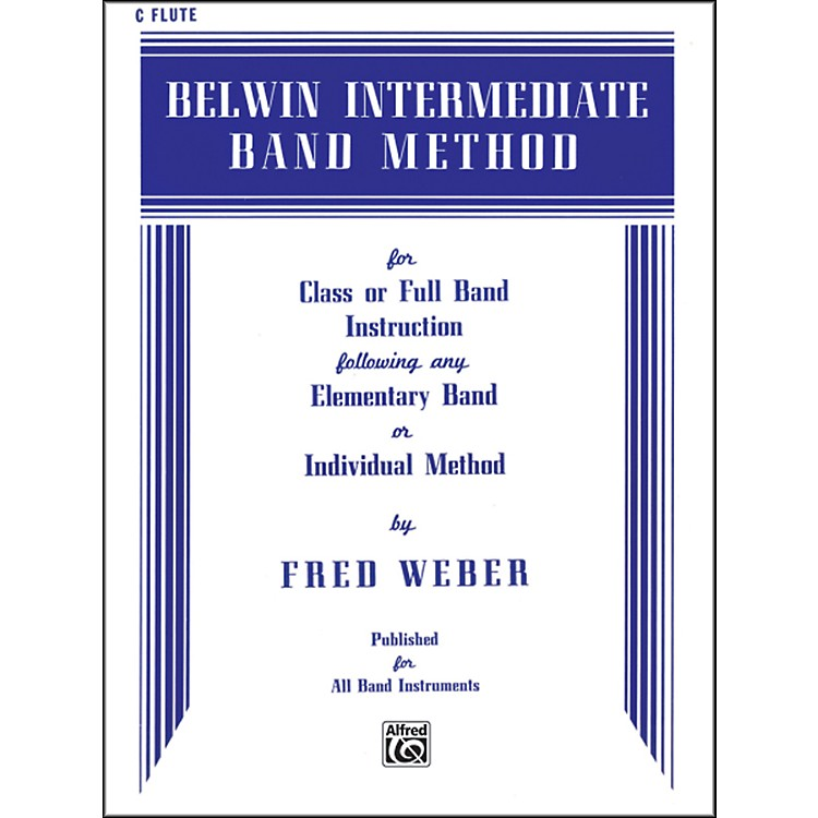 Alfred Belwin Intermediate Band Method C Flute