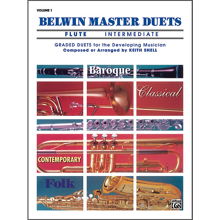 AlfredBelwin Master Duets (Flute) Intermediate Volume 1