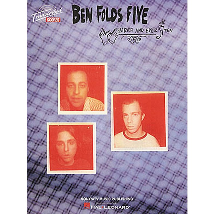 Hal LeonardBen Folds Five - Whatever and Ever Amen Book
