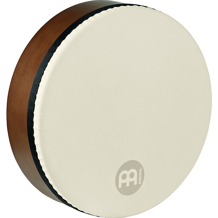 Meinl Bendir with True Feel Synthetic Head AFRICAN BROWN 16 in.