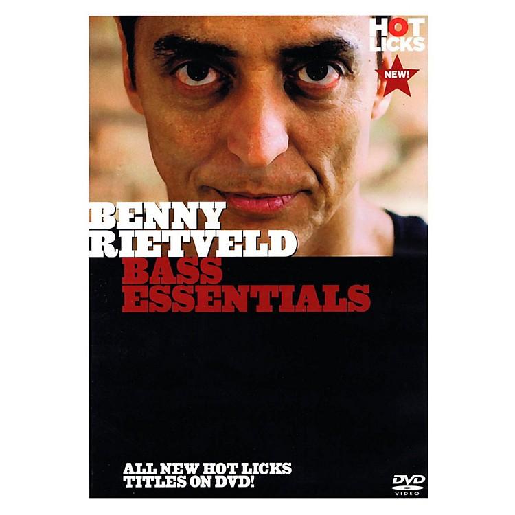 Music SalesBenny Rietveld - Bass Essentials DVD
