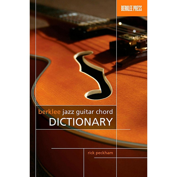 Berklee PressBerklee Jazz Guitar Chord Dictionary