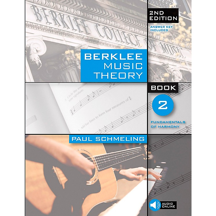 Berklee Press Berklee Music Theory Book 2 (Book/CD) 2nd Edition